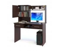 Надстройка КН-24 для копмпьютерного стола Сокол КСТ-107.1. КСТ-04.1 (венге)