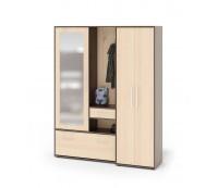 Прихожая со шкафом для одежды Сокол ВШ-6 + ШО-1
