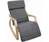 Кресло-качалка Relax F-1102 графит
