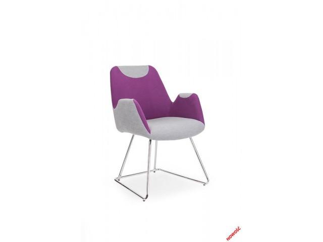 Кресло Halmar Safari, серо-фиолетовый