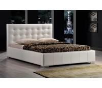 Кровать SIGNAL CALAMA, белая, 160/200