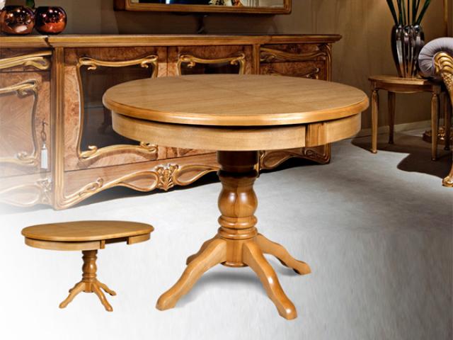 Стол обеденный Мебель-класс Прометей, раскладной, 100(140)*100