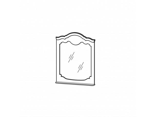 Зеркало навесное СП-002-17, мебельная система Орхидея